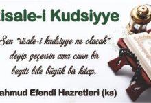Photo of Risale-i-Kudsiyye 13.Beyit